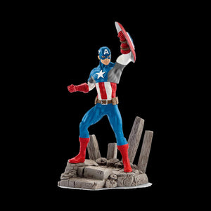 Schleich Marvel Captain America (#02) Collectable Figure New