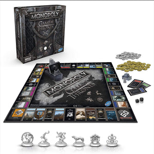 Hasbro Gaming Monopoly Game of Thrones Board Game for Adults