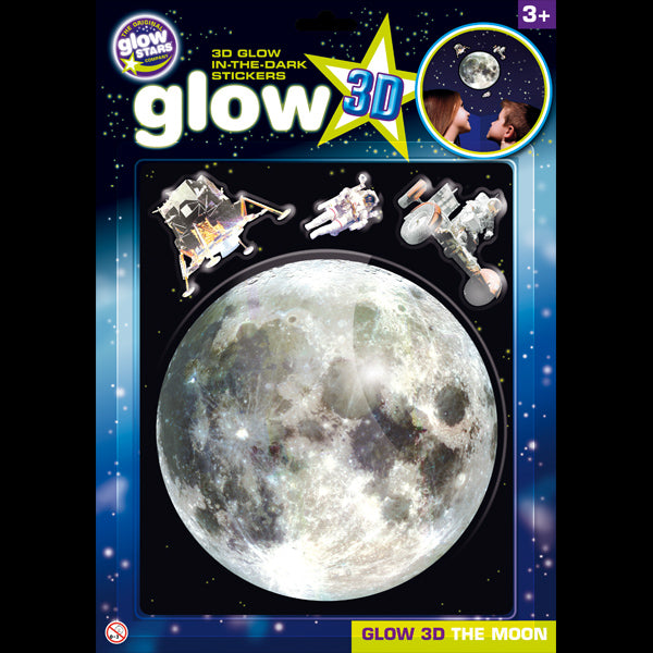 Glow In The Dark 3D Moon