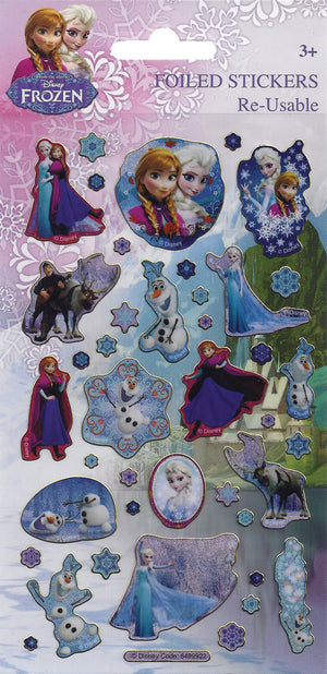 Frozen Character Stickers