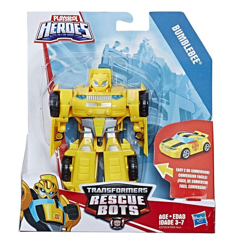 Playskool Heroes Transformers Rescue Bots - Bumblebee to Sports Car