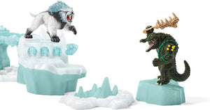 Schleich Eldrador Creatures Attack on Ice Fortress Playset Figures Included