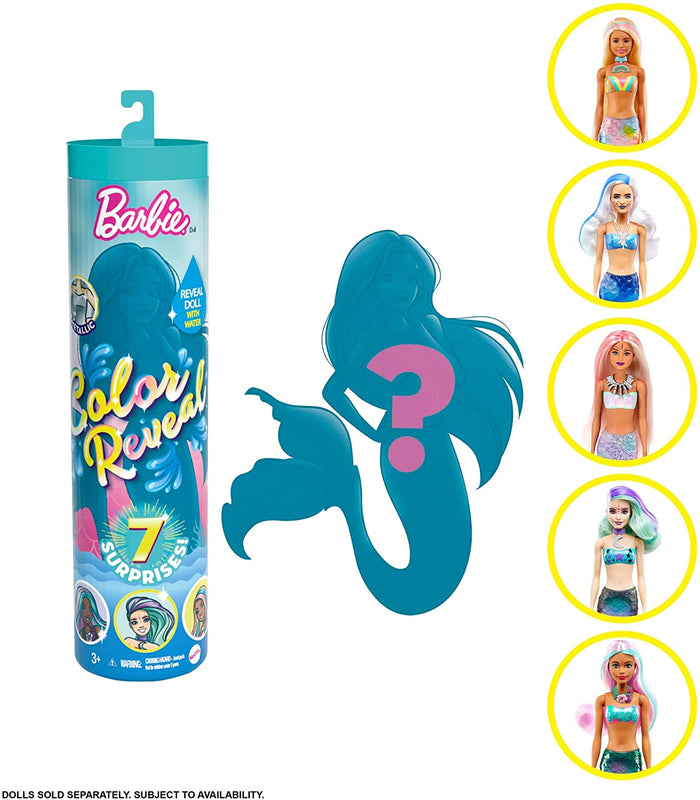 Barbie Colour Reveal Doll Wave 4