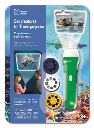 Sea Creatures Projection Torch