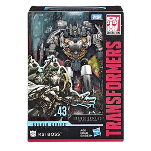 TRANSFORMERS GEN STUDIO SERIES 43 VOYAGE0R CLASS KSI BOSS