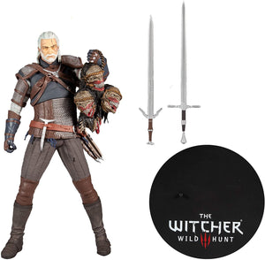 The Witcher 3 Wild Hunt - Geralt Of Rivia McFarlane 12 Inch Figure