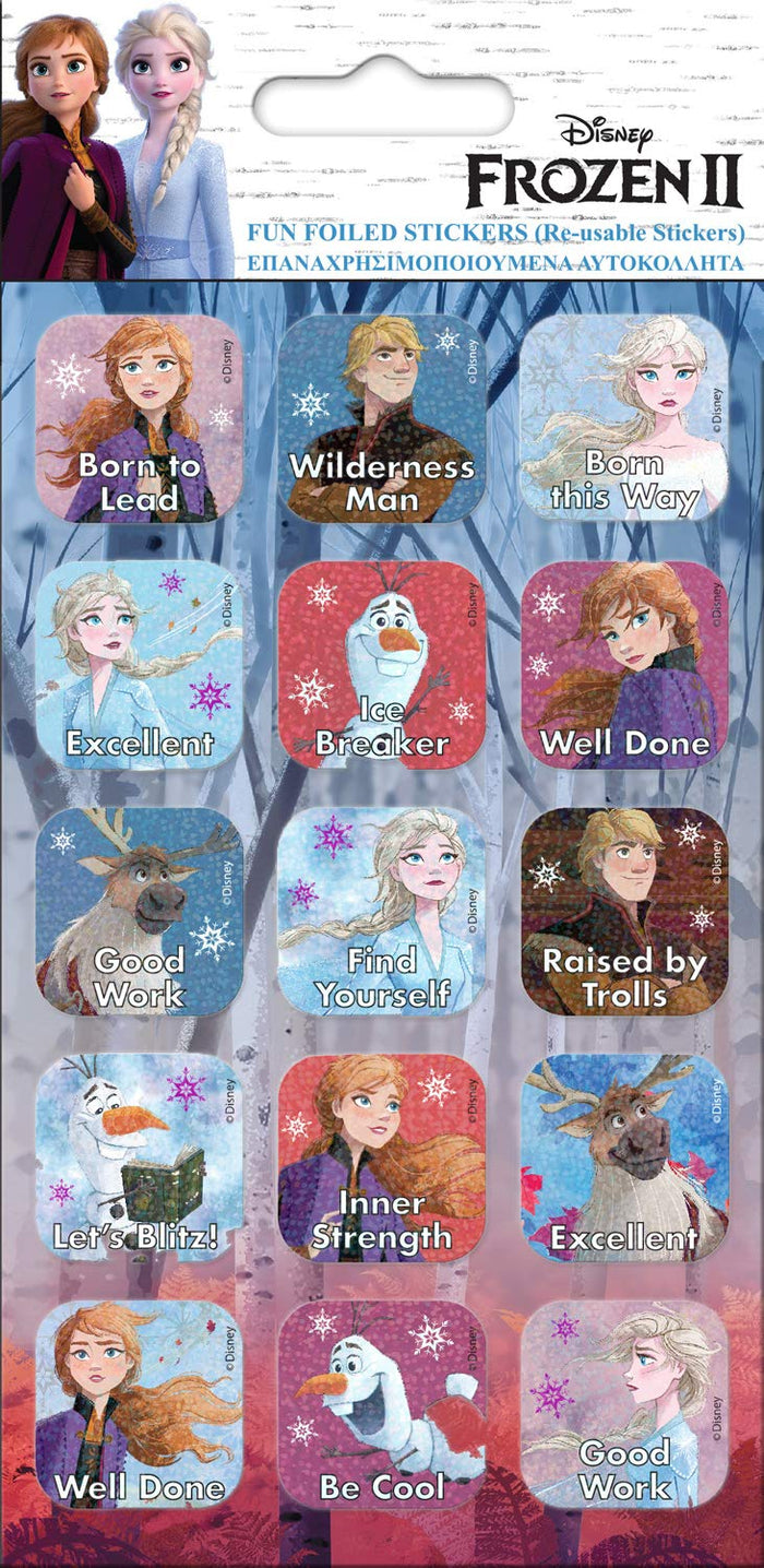 Paper Projects Frozen 2 Captions Sticker Pack