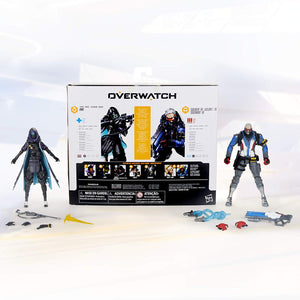 Overwatch Ultimates Series Soldier: 76 & Shrike (Ana) Skin Dual Pack 6""