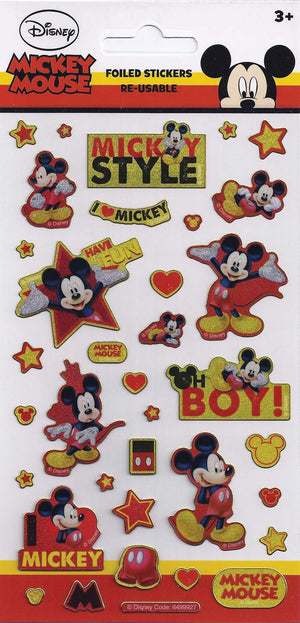 Disney Junior Mickey Mouse Foil Sticker Pack