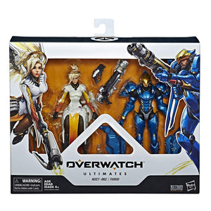 Overwatch Ultimates Series Soldier: Pharah & Mercy Dual Pack 6""