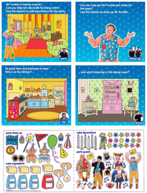 CBeebies Mr Tumble Sticker Scene Paper Projects