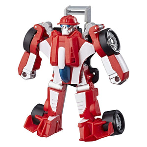 Playskool Heroes Transformers Rescue Bots - The Firebot To Racecar