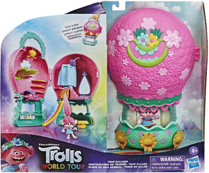 DreamWorks Trolls World Tour Tour Balloon, Toy Playset with Poppy Doll
