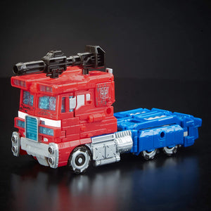 Transformers Siege Optimus Prime War For Cybertron Voyager Class Figure