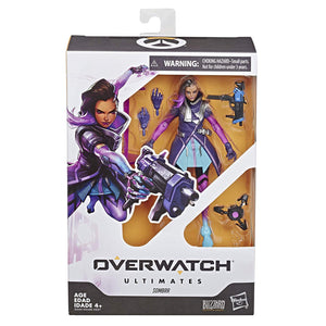 "Hasbro Overwatch Ultimates Series Sombra 6"" Collectible Action Figure"