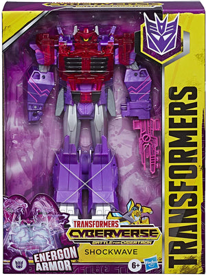 Transformers Cyberverse Battle for Cybertron - Energon Armor Shockwave