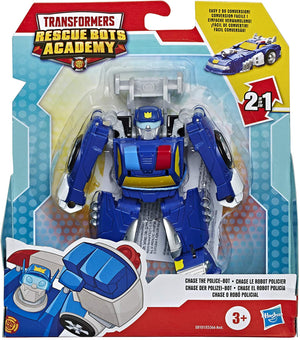 Playskool Transformers Rescue Bots Academy Chase The Police-Bot (E8101)