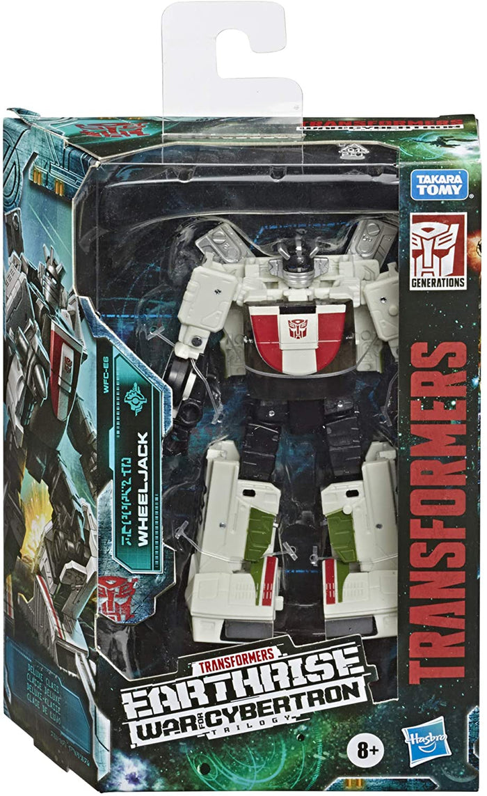 Transformers Toys Generations WFC: Earthrise Deluxe Wfc-E6 Wheeljack