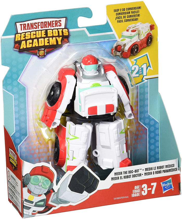 Playskool Transformers Rescue Bots Medix The Doc-Bot Ambulance