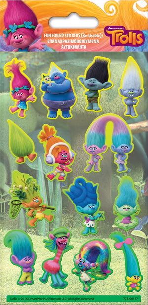 Trolls Character Stickers