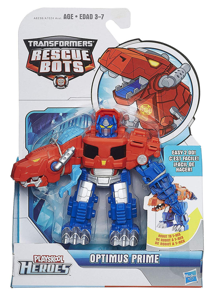 Playskool Heroes Transformers Rescue Bots - T-Rex Optimus Prime