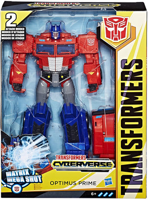 Transformers Cyberverse Ultimate Optimus Prime Matrix Mega Shot Action Figure