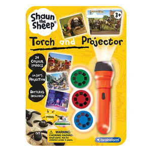 Shaun The Sheep Torch And Projector 2 In 1 Torch With Images From Farmageddon