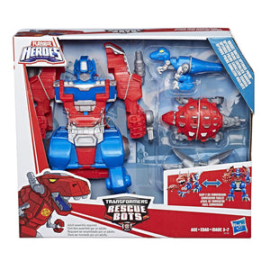 Playskool Heroes Transformers Bots Knight Optimus Prime