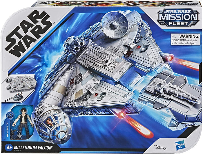 Star Wars Millennium Falcon Mission Fleet Han Solo and Tank included