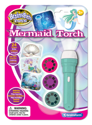 Mermaid Projection Torch