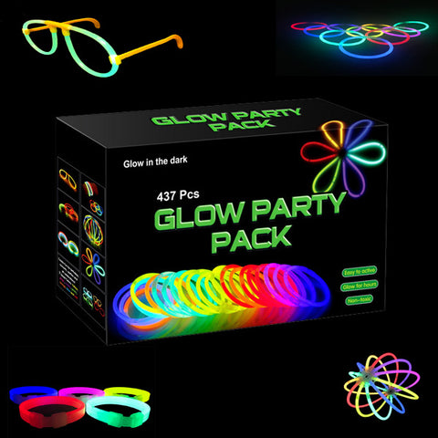437 Piece Glow Party Pack