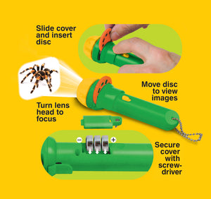 Creepy Crawly Projection Torch