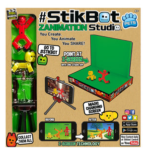 StikBot ZANIMATION Studio - Now With StikBot Pets! Create, Animate, Share