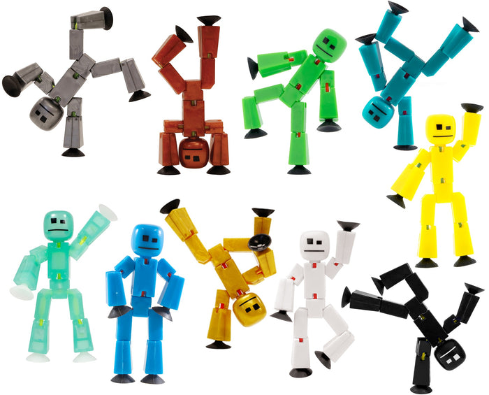 StikBots Solid Colours Pack Of 4