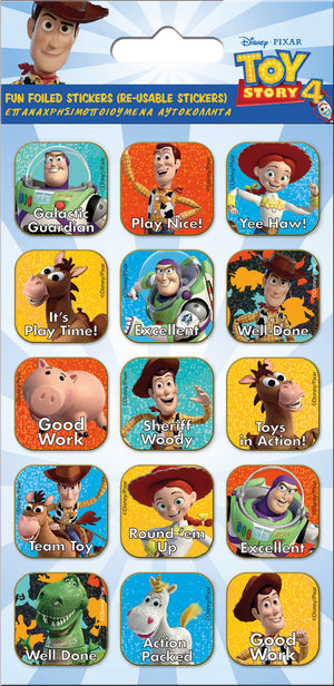 TOY STORY 4 CAPTIONS STICKERS