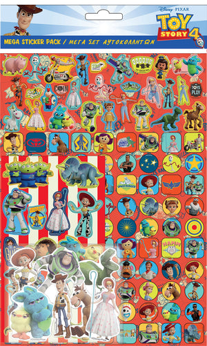 TOY STORY 4 STICKERS MEGA PACK