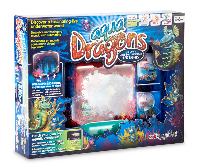 Aqua Dragons Deluxe With Led Lights