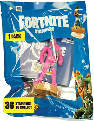 FORTNITE STAMPERS IN FOIL BAG