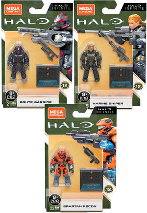 Mega Construx Halo Infinite Series 12 Figures