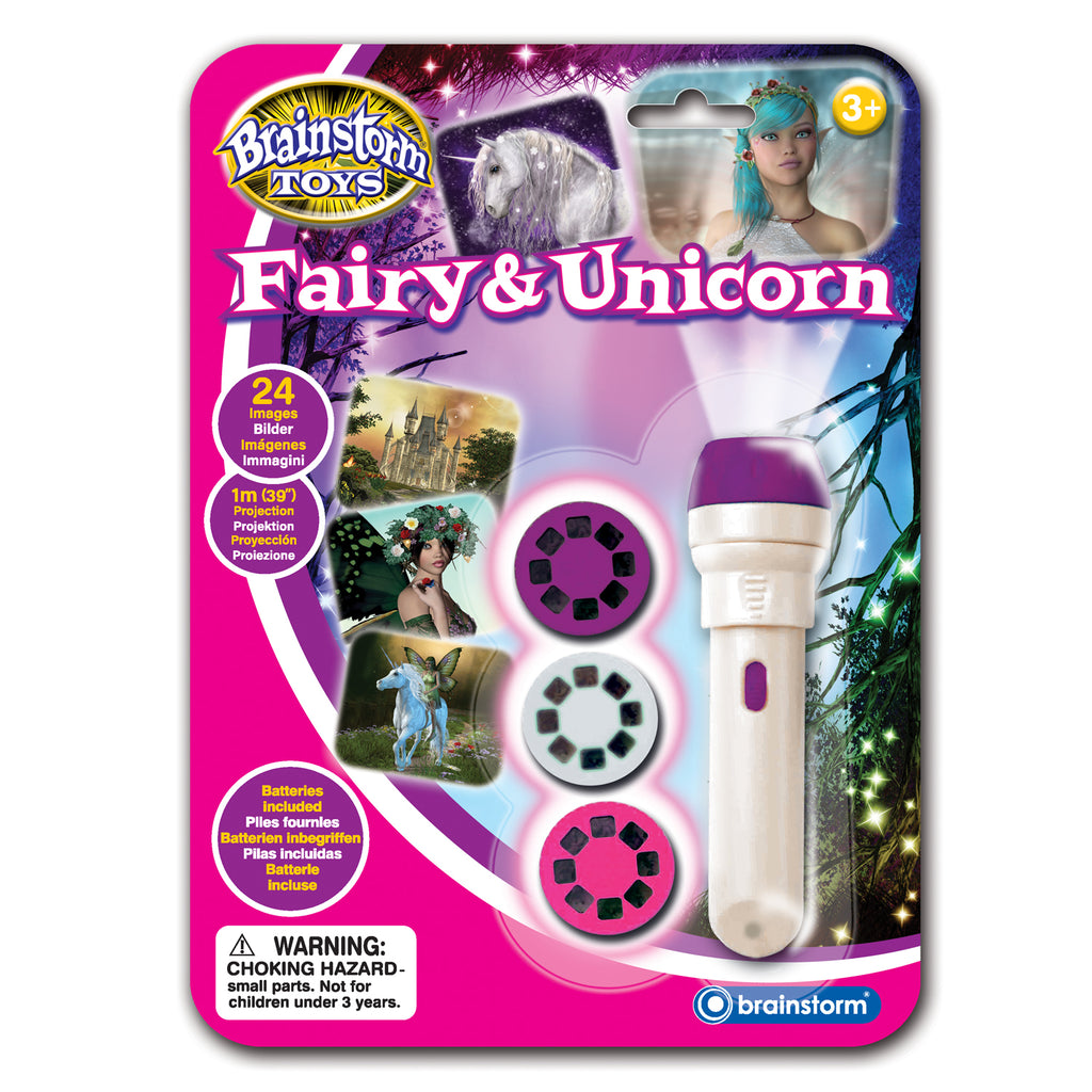 Unicorn And Fairy Projection Torch