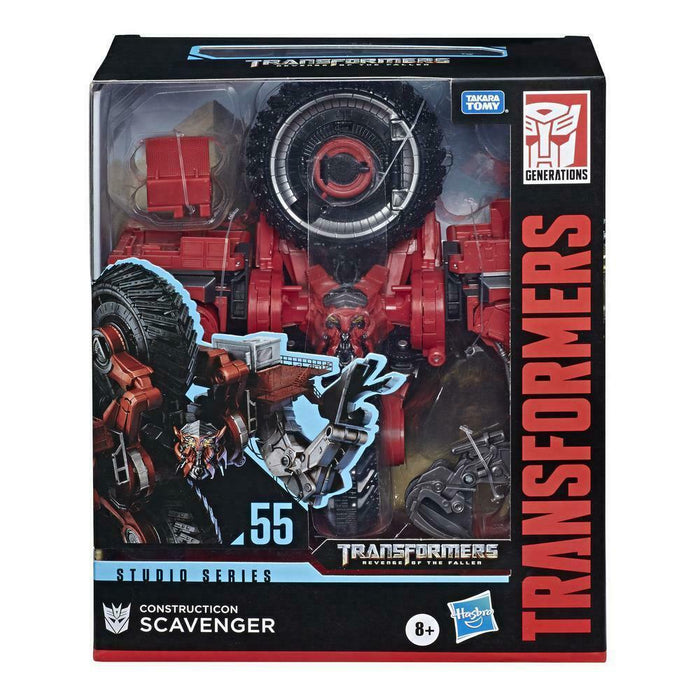 Transformers Toys Studio Series 55 Leader Class Revenge of the Fallen Construction Scavenger