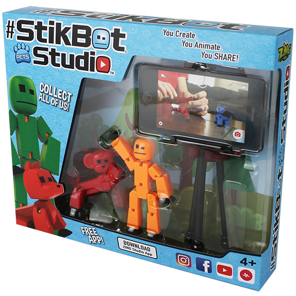 Stikbot Pets Studio With Free App