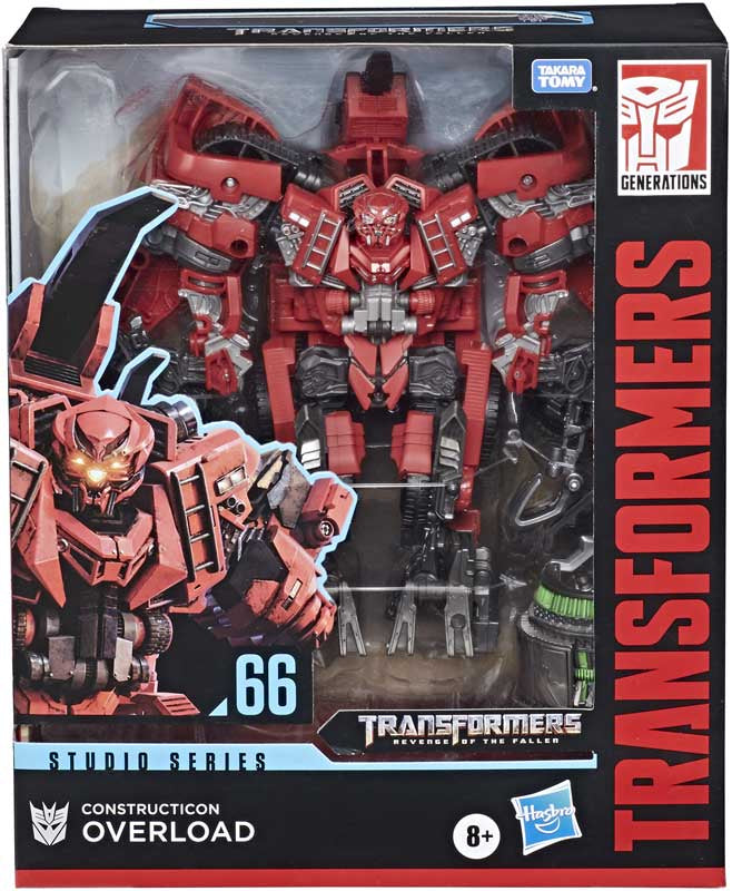 Transformers Studio Series Leader Class 66 Constructicon Overload Action Figure