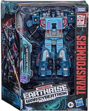 Transformers Toys Generations War for Cybertron: Earthrise Leader WFC-E23 Doubledealer Triple Changer