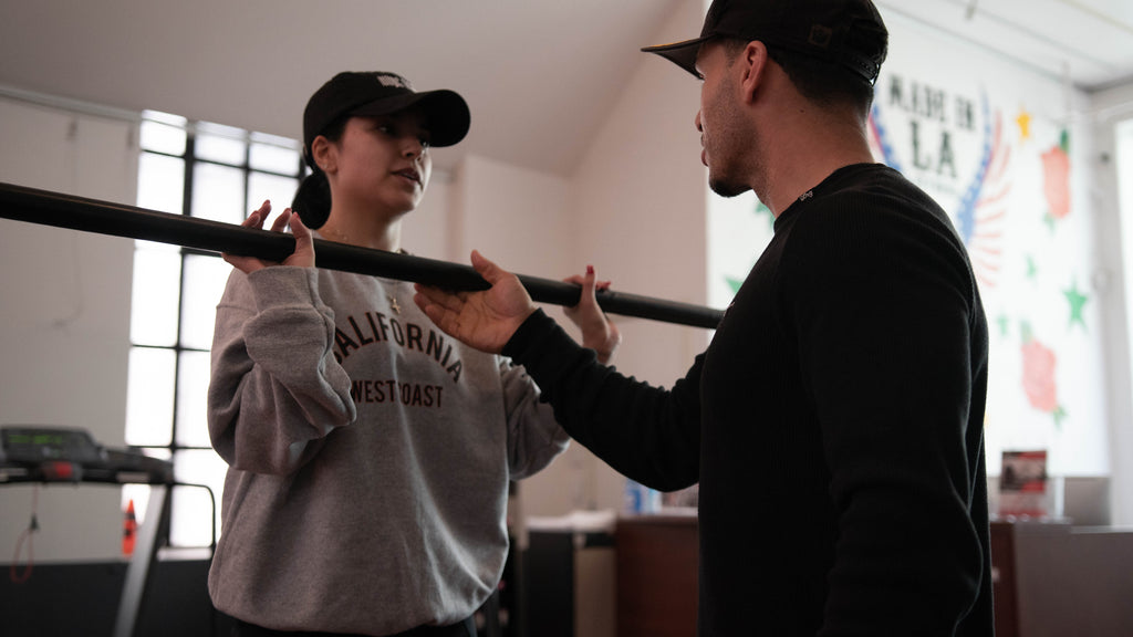 Singer - Actress Becky G Begins her Fitness Journey with PHLEXX CEO Mario Guevara