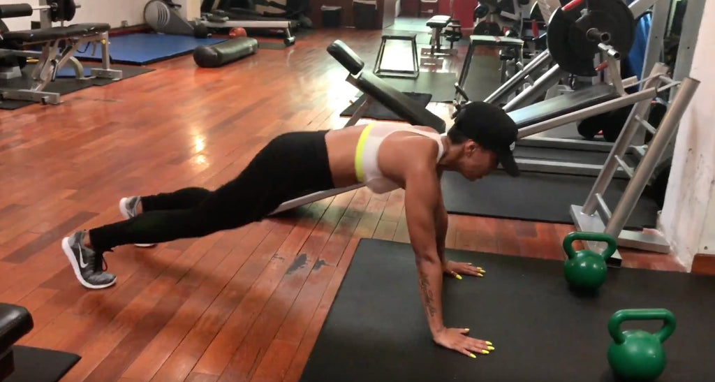 Fat Burning Burpee