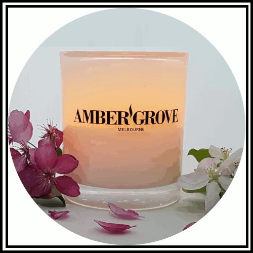 Amber Grove - Scented Soy Wax Candles
