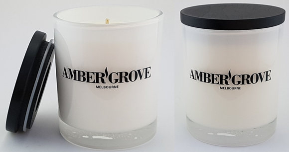 Amber Grove - Hand made all natural soy wax candles. Made in Berwick