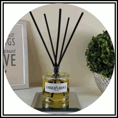 Amber Grove - Soy Wax Candles - Reed Diffusers