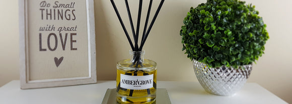 Amber Grove - Hand poured Reed Diffusers